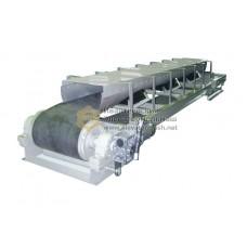 Конвейер ленточный роликовый желобчатый с укрытием УКР-02