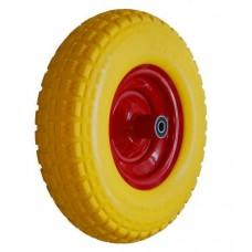 Колесо PU 360х80 (3.25-8)ось 20x110 (000-414-360) (мет.д.) Fm Lk 2x6204RS С