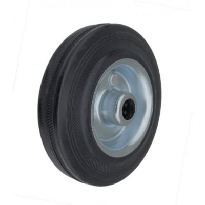 Колесо 125x34 ось 15x40 (000-001-125) металл/резина Lw
