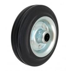 Колесо 160x39 ось 20x56 (000-001-160) металл/резина Lw