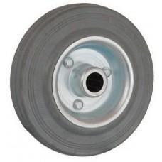Колесо 200x39 ось 20x56 (000-002-200) металл/резина серая Lw