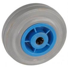 Колесо 100x27 ось 12x40 (000-004-100) пластик/резина серая Lw