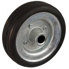 Колесо 160x45 ось 20x60 (000-009-160) металл/резина сборный диск Lw
