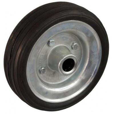 Колесо 200x45 ось 20x60 (000-009-200) металл/резина сборный диск Lw
