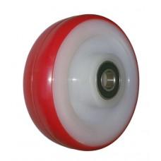 Колесо 100x30 ось 12x40 (000-032-100) полиамид/полиуретан Lk