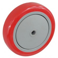 Колесо 100x32 ось 10x40 (000-061-100) пластик / полиуретан Lk