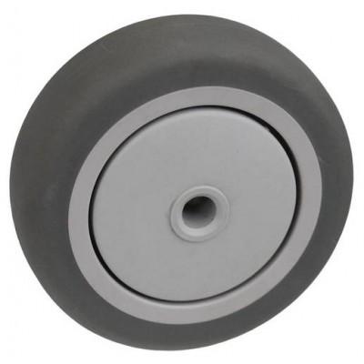 Колесо 100x32 ось 10x40 (000-063-100) пластик/TPR Lk