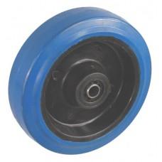 Колесо 125x34 ось 15x40 (000-065-125) эластик Lw