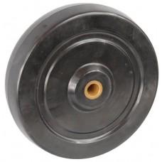 Колесо 100x32 ось 10x40 (000-073-100) резина F Ls