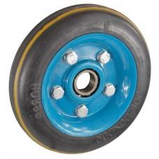 Колесо 190х45 ось 24х45 (000-094-190) металл/резина усиленная Lw
