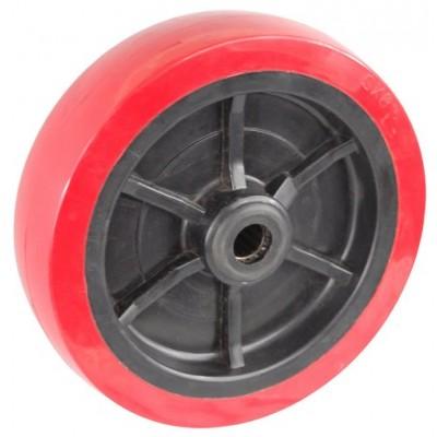 Колесо 200x50 ось 19x60 (000-211-200) пластик/полиуретан Lw