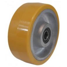 Колесо 400x100 ось 35x108 (000-227-400) чугун/полиуретан  Lk