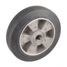 Колесо 160x50 ось 20x60 (000-250-160) алюминий/резина Lk