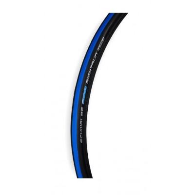 """Покрышка 24"""" 24x1 (25-540) (O-24X1-RR-N/C) Schwalbe Right Run сине-черная"""