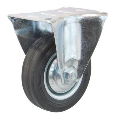 Колесо А 200 (003-001-200) с кронштейном металл/резина