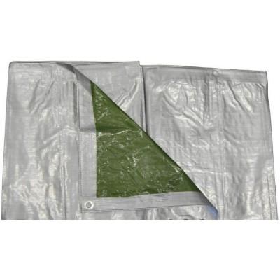 Пленка - 6х8м серебристо-зеленая 120г/м2 (BICO6x8)