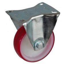 Колесо А 100 (003-024-100) с кронштейном полиамид/полиуретан с втулкой