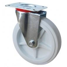 Колесо А 200 (001-040-200) с кронштейном поворотным полипропилен