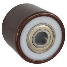 Колесо 80х70 ось 20x70 (000-032-870) полиамид/полиуретан