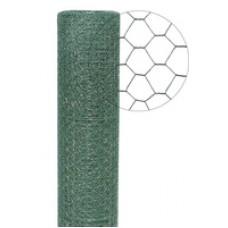 Сетка гексагональная с полимерным покрытием 1.0m/25m 12.7x 0.70 BWG22