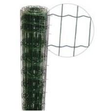 Сетка ограждения с полимерным покрытием 1.5m/10m 50/100*2.0/2.5