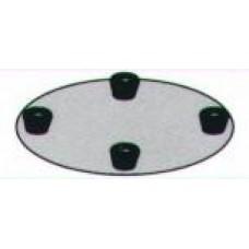 Шлифовочный диск (005625Т) Kreber K600 ETP 600мм