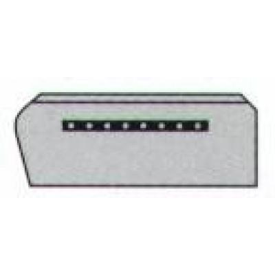 Лопасти (006017/4) Kreber К-600 R4 затирочные (Finish) (комплект - 4 шт.)
