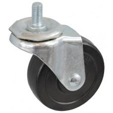 Колесо J 75 (278-071-075) с кронштейном поворотным резина болт М10
