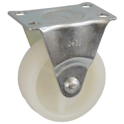 Колесо J 40 (273-057-040) с кронштейном пластик белый