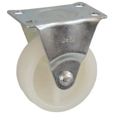 Колесо J 50 (273-057-050) с кронштейном пластик белый
