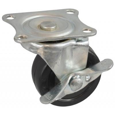 Колесо J 65 (272-071-065) с кронштейном поворотным резина с тормозом