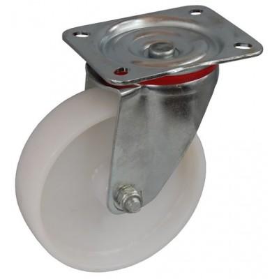 Колесо С 80 (101-022-080) с кронштейном поворотным полиамид с роликовым подшипником