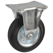 Колесо С 125 (103-010-125) с кронштейном металл/резина