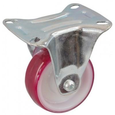 Колесо С 100 (102-026-100) с кронштейном полиамид/полиуретан с роликовым подшипником