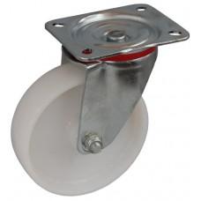 Колесо С 125 (101-023-125) с кронштейном поворотным полиамид с роликовым подшипником