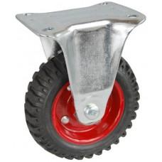 Колесо С 125 (103-200-125) с кронштейном металл/резина с шариковым подшипником