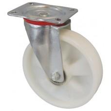 Колесо С 200 (101-030-200) с кронштейном поворотным полиамид с шариковым подшипником
