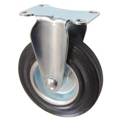Колесо F 80 (203-010-080) с кронштейном металл/резина