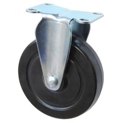 Колесо F 75 (203-073-075) с кронштейном резина