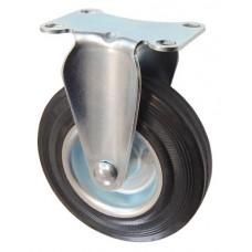 Колесо F 125 (203-010-125) с кронштейном металл/резина
