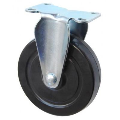 Колесо F 125 (203-073-125) с кронштейном резина