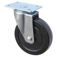 Колесо F 125 (201-073-125) с кронштейном поворотным резина