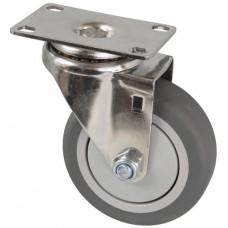 Колесо FI 100 (211-063-100) с кронштейном поворотным пластик/TPR