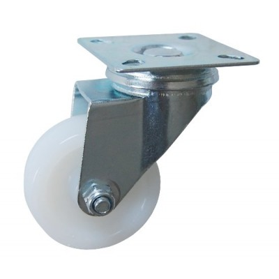 Колесо G 50 (251-020-050) с кронштейном поворотным полиамид с втулкой