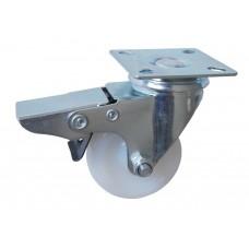 Колесо G 50 (252-020-050) с кронштейном поворотным полиамид с втулкой с тормозом