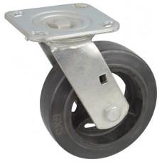 Колесо SA 125 (301-240-125) с кронштейном поворотным чугун/резина