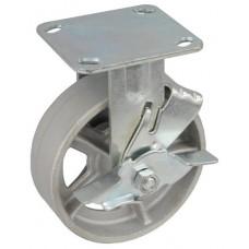 Колесо SA 150 (304-230-150) с кронштейном чугун с тормозом