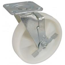 Колесо SA 200 (302-030-200) с кронштейном поворотным полиамид с шариковым подшипником с тормозом