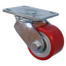 Колесо SA 82 (301-225-082) с кронштейном поворотным чугун/полиуретан
