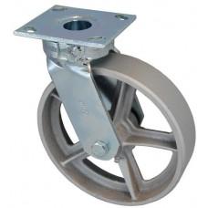Колесо SC 125 (305-230-125) с кронштейном поворотным чугун